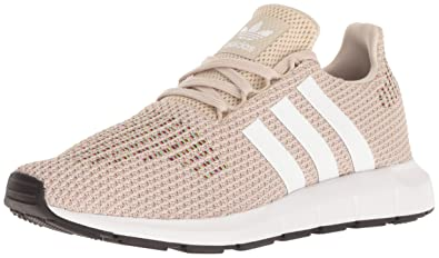 9d4e7bcdb16a47 adidas Originals Women's Swift W Running-Shoes,clear brown/white/core black