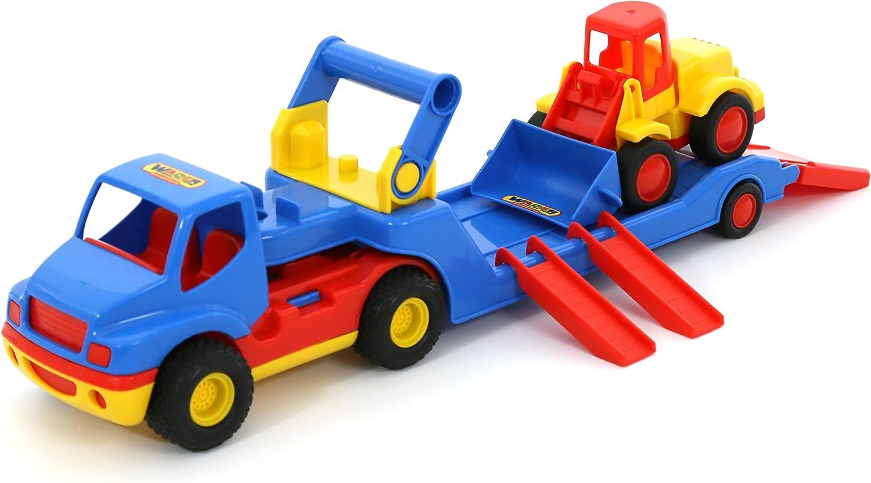 Wader Construction// Transporter Truck and Excavator Set