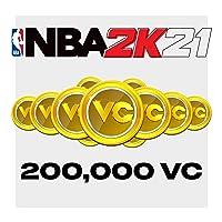 NBA 2K21: 200,000 VC - PS4 [Digital Code]