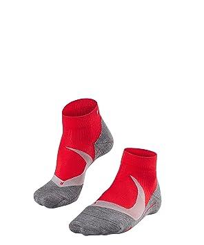 Falke - Ru4 Cushion Short - Calcetines Tobilleros - Scarlet: Amazon.es: Deportes y aire libre