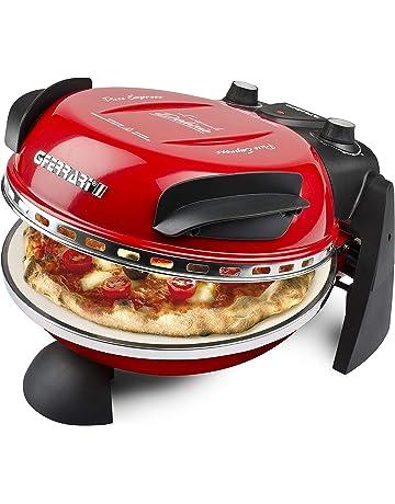 G3Ferrari G1000602 Delizia Horno pizza eléctrico Evo, 1200 W, rojo