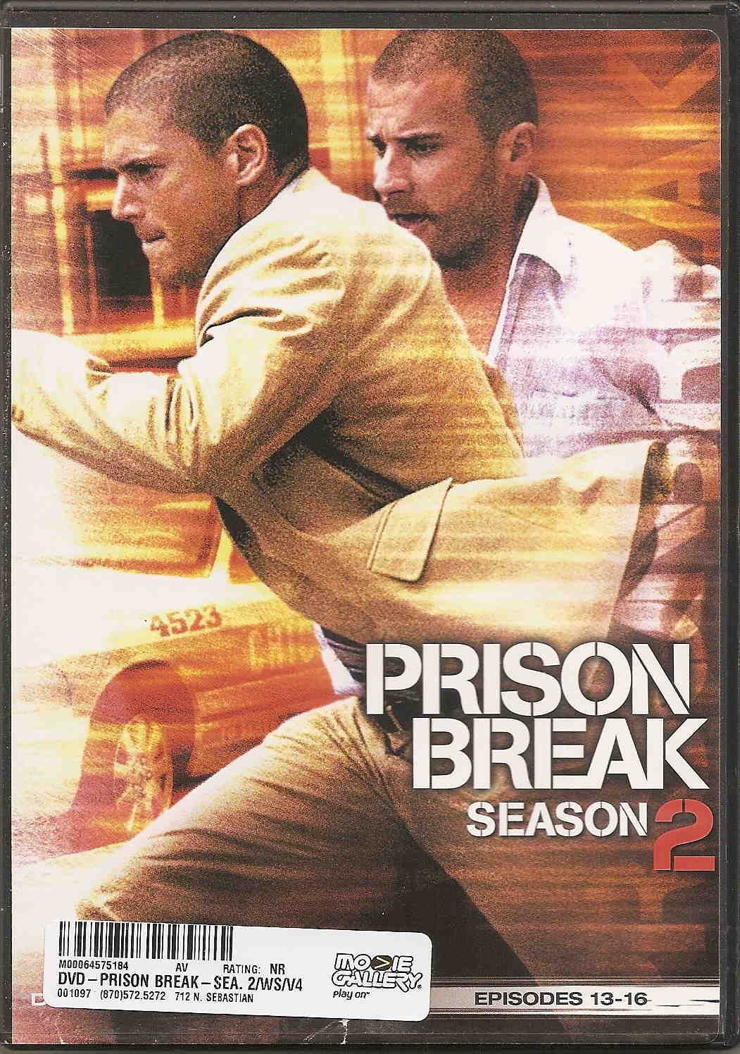 Amazon Com Prison Break Season 2 Disc 4 Episodes 13 16 Movies Tv