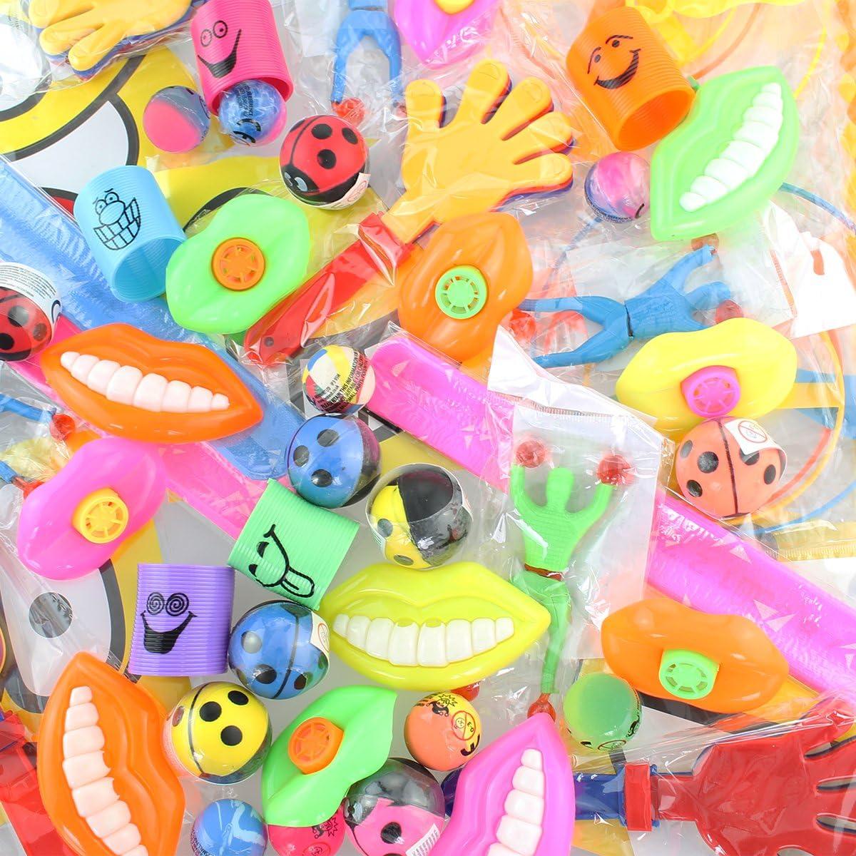 100 pièces Petit cadeau petit jouet Mix Anniversaires d