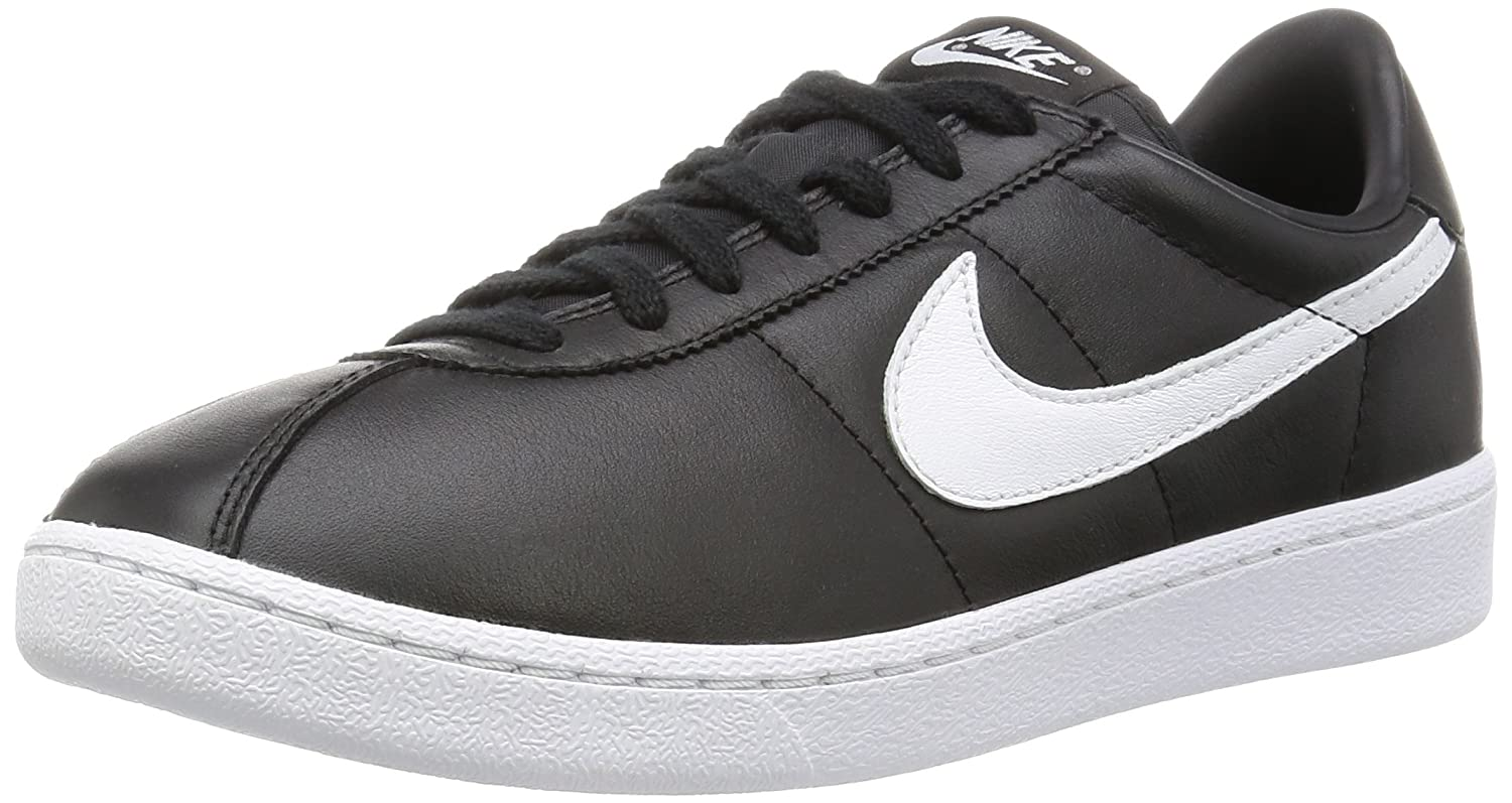 9da9dbd98d79 NIKE Bruin QS Real Leather Sneaker Black 842956 001  Amazon.co.uk  Shoes    Bags