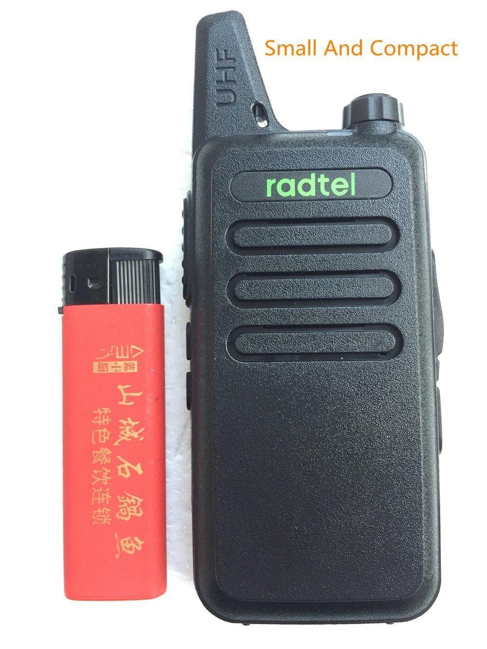 Radtel RT-10 Mini Two Way Radio UHF 400-470Mhz 3W Kid's Walkie Talkie , for Outdoor Camping Hiking Hunting Gift (10 Pack) by radtel (Image #8)