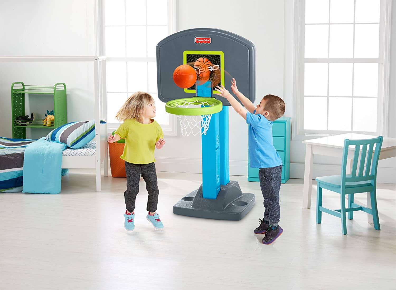 Amazon.com: Fisher-Price Grow-to-Pro Basketball: Toys & Games