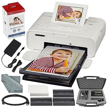 Canon SELPHY CP1300 Impresora fotográfica compacta (blanca ...