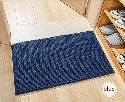 Amazon Com Claire Cc Non Slip Microfiber Bath Rugs Chenille Floor