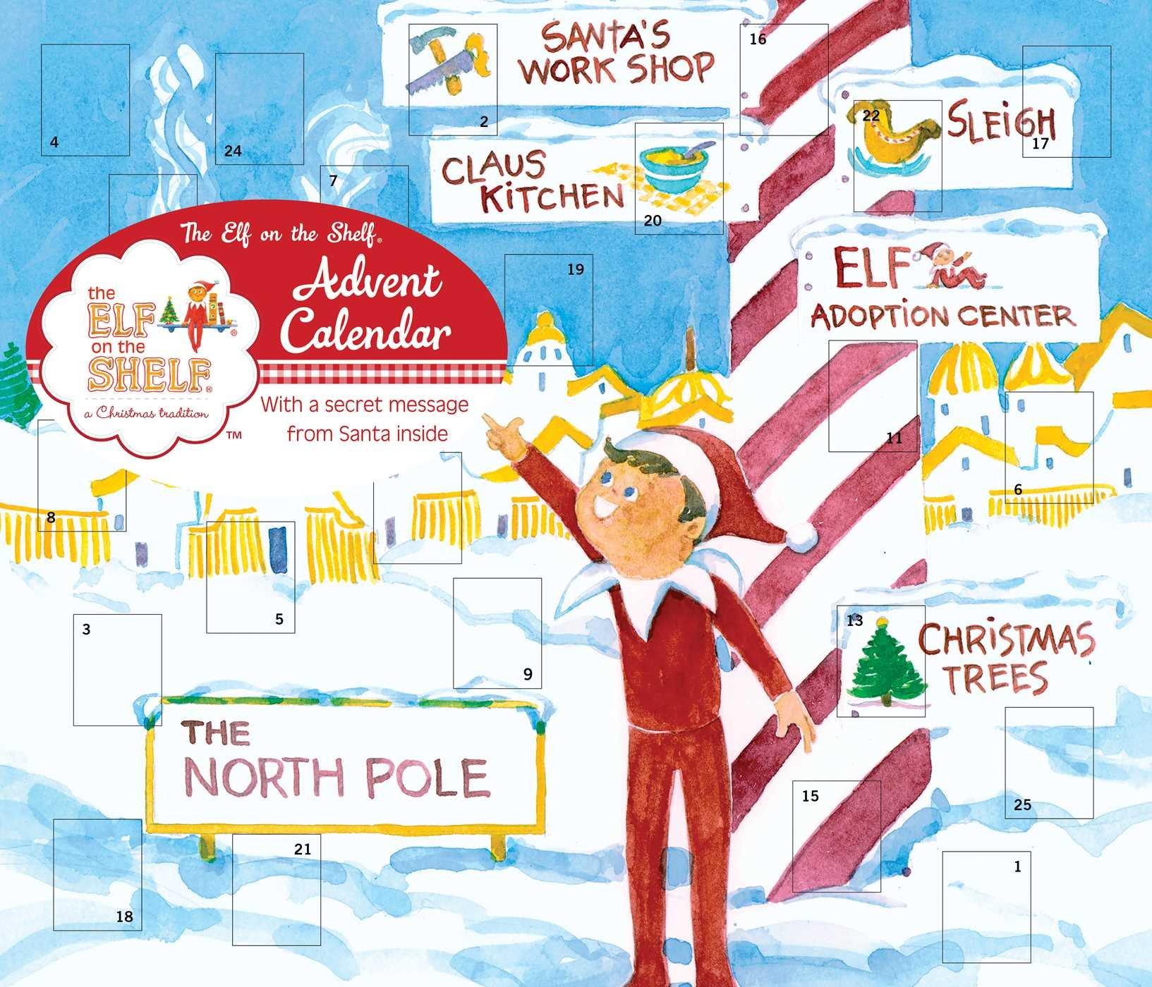 The Elf on the Shelf Advent Calendar: Universe Publishing