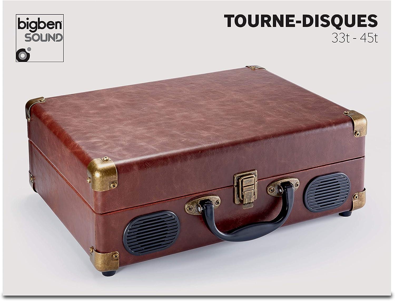 Bigben Interactive TD102 - Tocadiscos: Amazon.es: Electrónica