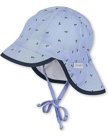 dd988e13a727b Sterntaler Baby Boys  Schirmmütze M. Nackenschutz Hat