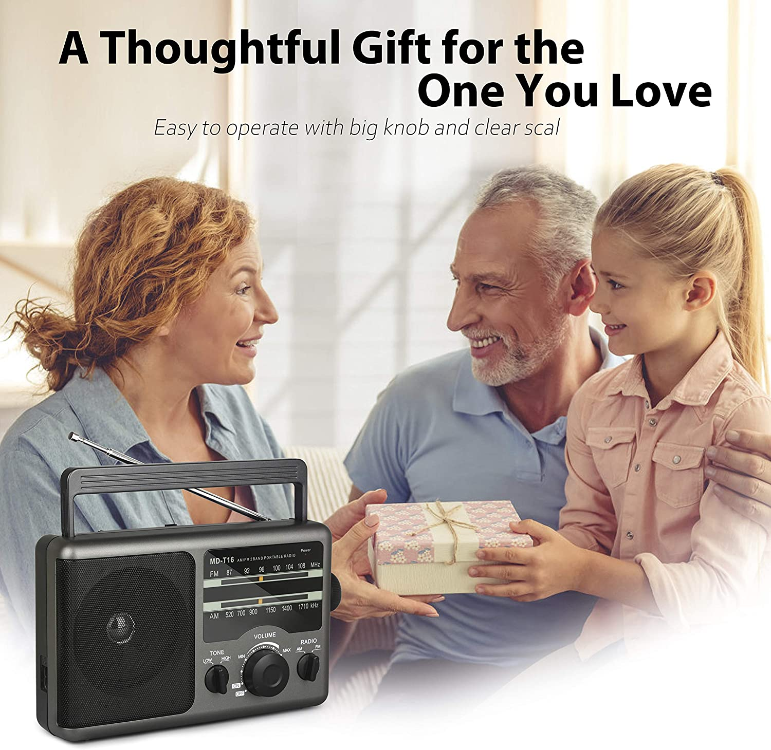 Best for a gift- AM FM portable transistor radio