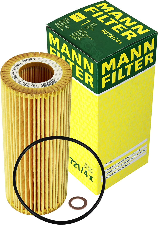 Filter Set Inspektionspaket 9 Liter Motoröl Original Longlife 04 Twin Power Turbo 5w30 Mann Filter Kraftstofffilter Luftfilter Ölfilter Auto