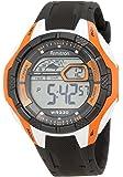Armitron Sport Men's 40/8276ORG White and Orange Black Resin Strap Chronograph Watch