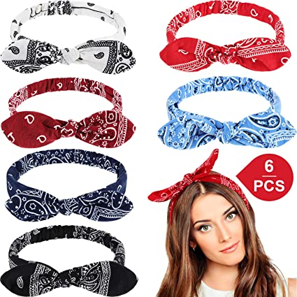 10Pcs Baby Girl Flower Bow Hair Band Turban Knot Rabbit Headband Headwrap Lot