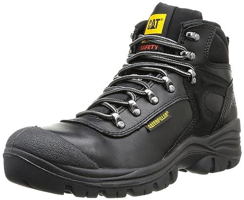 68457c5228e CAT Footwear Men's Pneumatic S3 Black Safety Boot 705303 7 UK ...