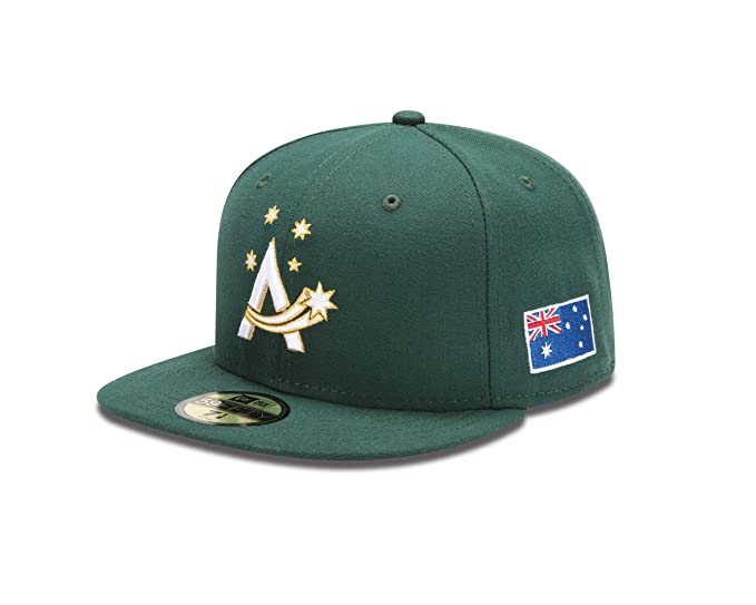 6fabf0beeea Amazon.com   World Baseball Classic 2013 Australia Official On-Field 5950  Fitted Cap