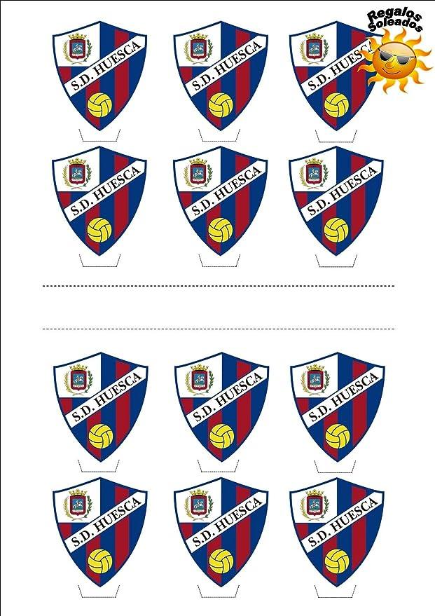 12 x Huesca Camiseta de Fútbol 2016-17 Decoración Comestible ...