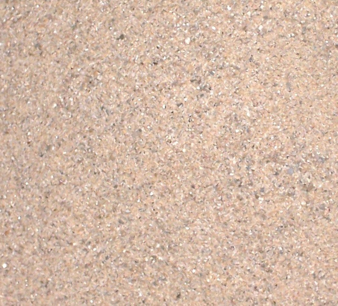 Safe & Non-Toxic {Tiny Size, 0.01'' to 0.08'' Inch} 30 Pound Bag of Sand Decor for Freshwater & Saltwater Aquarium w/ Natural Rustic Simple River Inspired Earthy Subtle Versatile Style [Tan]