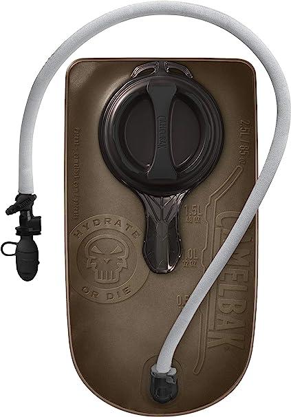 2177001085 CamelBak Mil Spec Crux 85 oz//2.5L Accessory Reservoir with Grey Tube Cover