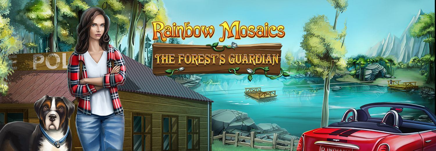 Rainbow Mosaics: The Forest's Guardian [Download] ()