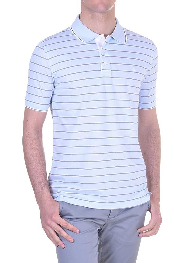 BRAMANTE Polos Hombre Slim Azul Cielo S: Amazon.es: Ropa y accesorios