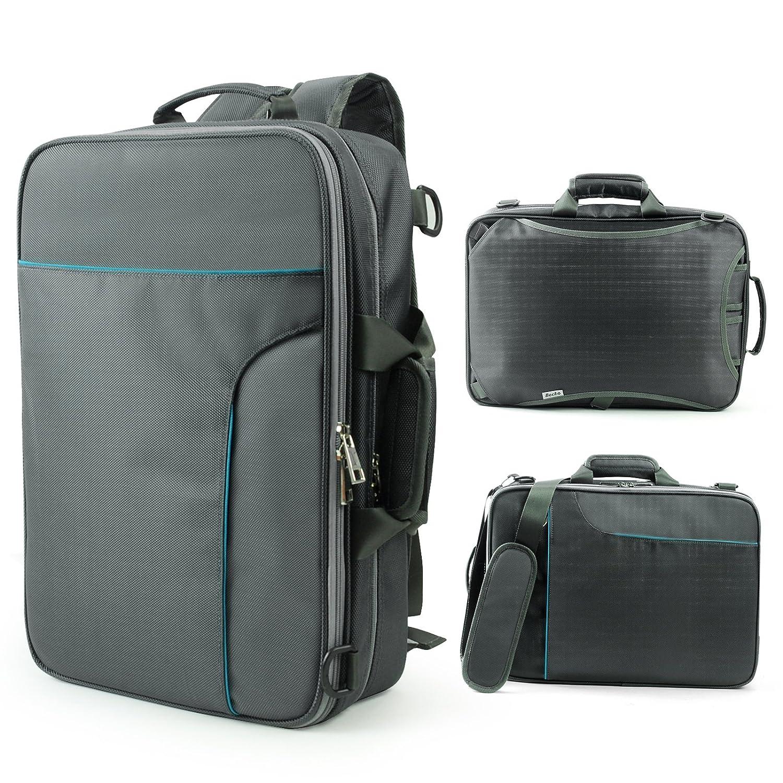 Amazon.com: Becko 3 In 1 Padded Laptop Backpack / Single-shoulder ...
