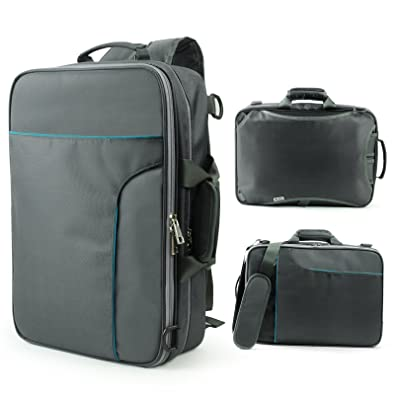 Amazon.com: Becko 3 In 1 Padded Laptop Backpack / Single-shoulder ...