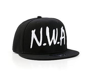 Gorra de b eacute isbol con inscripci oacute n  quot NWA quot  ... 45efe628c1c