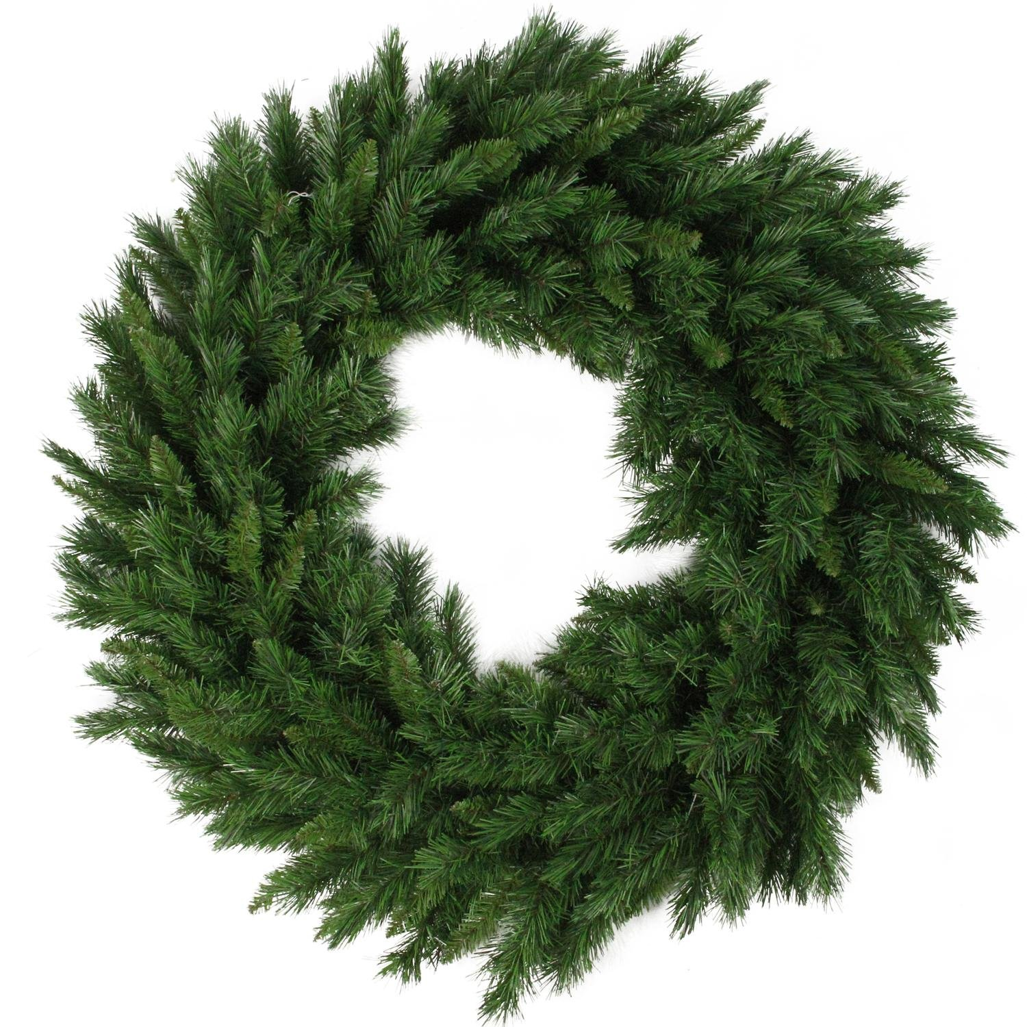 Northlight V03944 Lush Mixed Pine Artificial Christmas Wreath, 24''