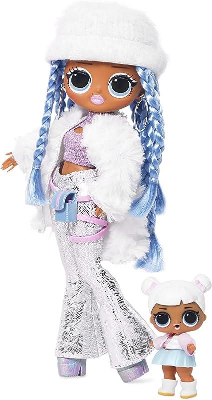 Amazon Com L O L Surprise O M G Winter Disco Snowlicious Fashion Doll Sister Toys Games