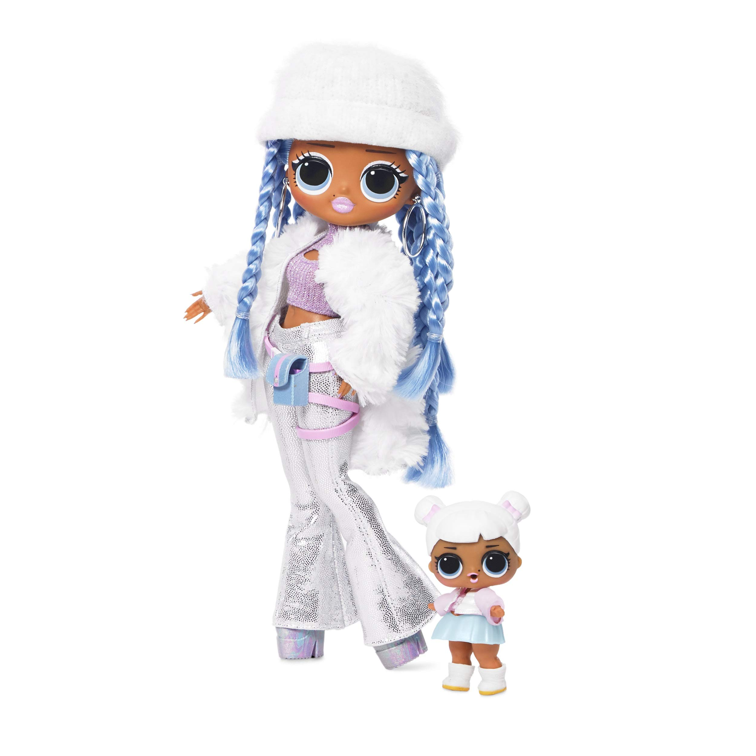 L.O.L. ¡Sorpresa! DIOS MIO. Winter Disco Snowlicious Fashion Doll & Sister