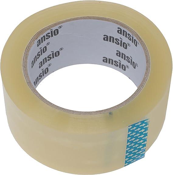 Cinta de embalaje transparente, paquete de 6 rollos de cinta de ...
