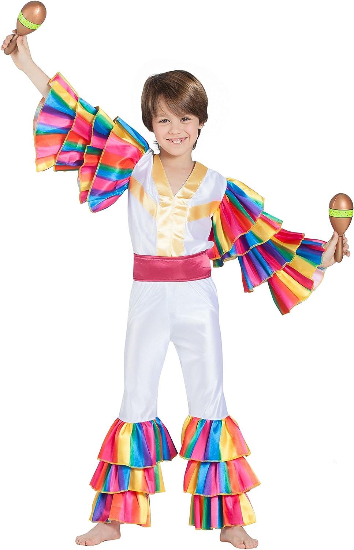 Banyant Toys, S.L. Disfraz DE RUMBERO Blanco: Amazon.es: Juguetes ...