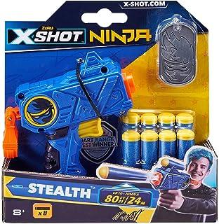 Zuru 36321 X-Shot Ninja No Rez Blaster - Juego de Dardos y ...