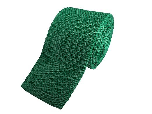 Oliver Bainbridge Verde Skinny de punto corbata: Amazon.es: Ropa y ...
