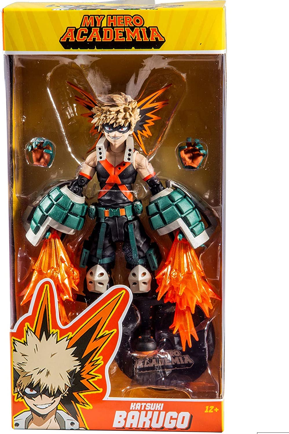 "McFarlane Toys 7/"" My Hero Academia Wave 1 Katsuki Bakugo Action Figure"