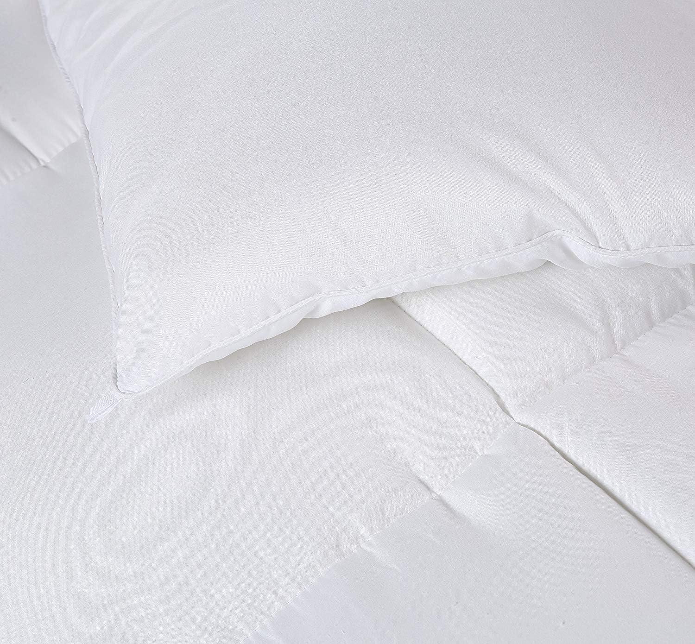 Fibra Hueca siliconada 1400 gramo Utopia Bedding Invierno Edred/ón de Fibra Gris, Cama 105