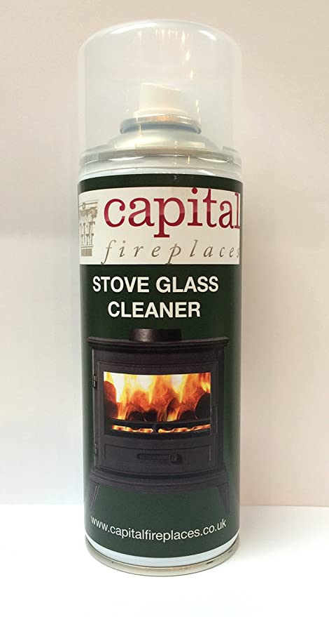 CAPITAL Clearview & cocina Spray de cristal de estufa Cleaner Spray