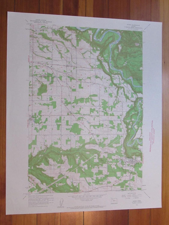 Amazon Com Sandy Oregon 1961 Original Vintage Usgs Topo Map