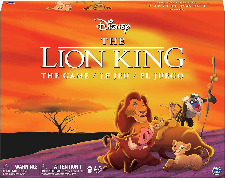 Spin Master Disney Lion King Juego de Mesa de Carreras Niños y Adultos - Juego de Tablero (Juego de Mesa de Carreras, Niños y Adultos, Niño/niña, 6 año(s), Multicolor, China): Amazon.es: Juguetes