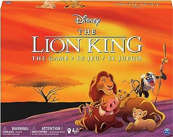 Spin Master Disney Lion King Juego de Mesa de Carreras Niños y ...