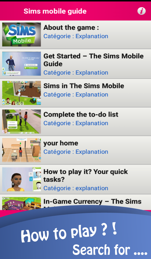Guide for sims mobile: Amazon.es: Appstore para Android