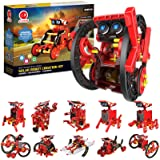 CIRO Solar Robots Kit, Science Toy 12 in 1 Kids STEM Project Kits, 190 Piece Building Toy Science Experiments Robot for…