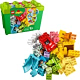 LEGO DUPLO Classic Deluxe Brick Box 10914 Starter Set with Storage Box, Great Educational Toy for Toddlers 18 Months and up, New 2020 (85 Pieces)