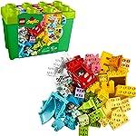LEGO DUPLO Classic Deluxe Brick Box 10914 Starter Set with Storage