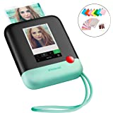 Polaroid Pop 2.0 2 in 1 Wireless Portable Instant 3x4 Photo Printer & Digital 20MP Camera with Touchscreen Display, Built-in Wi-Fi, 1080p HD Video (Green) Prints From Your Smartphone.