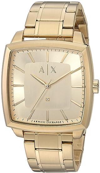b55708a06cb3 Armani Exchange Men s AX2364 Gold Watch  Armani Exchange  Amazon.com ...