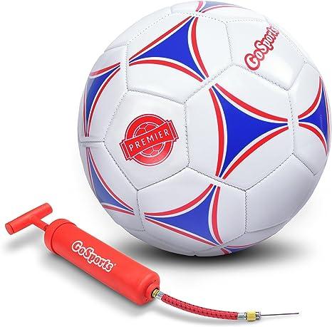 GoSports Premier Bomba de balón de fútbol con Premium (Sola Bola o ...