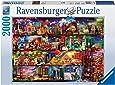 Ravensburger - Puzzles 2000 piezas, diseño El mundo de los libros (16685 5)